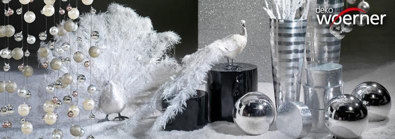 deko spezialist woerner federleichte weihnachtsmagie. Black Bedroom Furniture Sets. Home Design Ideas