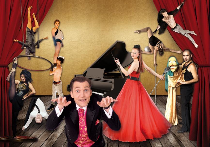 Die neue Show vom 13.11.2015 bis 28.02.2016 - Zwei mit Charme und Schnauze