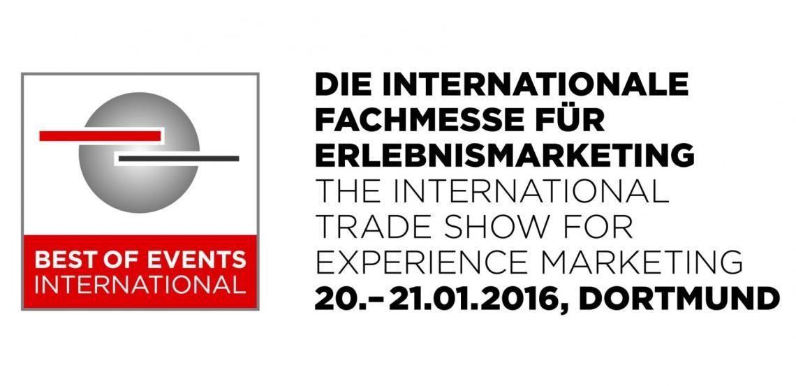 Fachmesse für Erlebnismarketing verzeichnet starke Nachfrage - Vorbericht zur BEST OF EVENTS INTERNATIONAL 2016