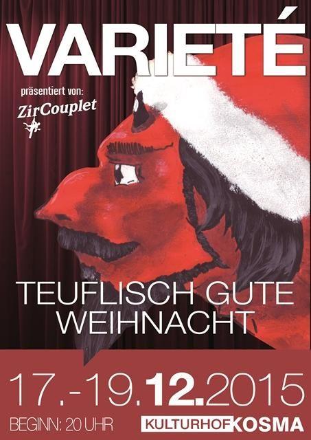 Varieté 2015 – Kulturhof Kosma »Teuflisch gute Weihnacht«