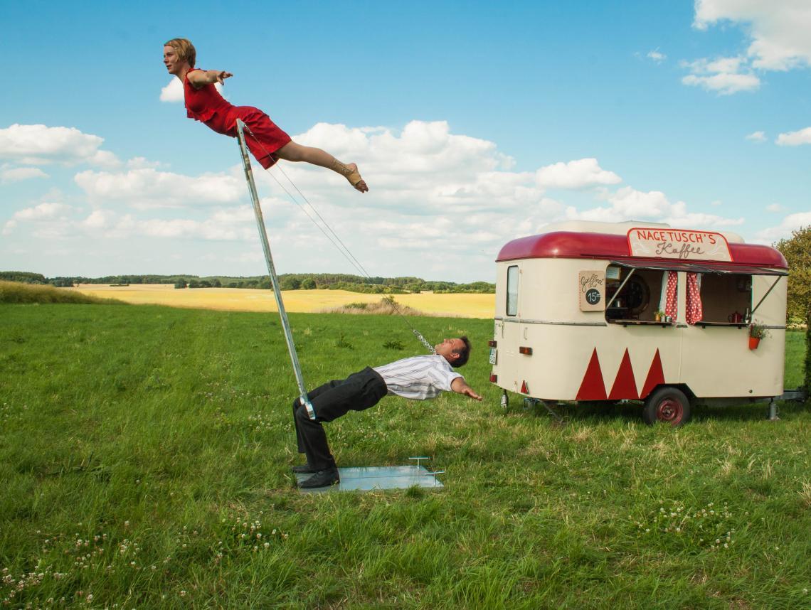 Nagetusch - Ein Cafewagen macht Circus auf der Internationalen Kulturbörse Freiburg
