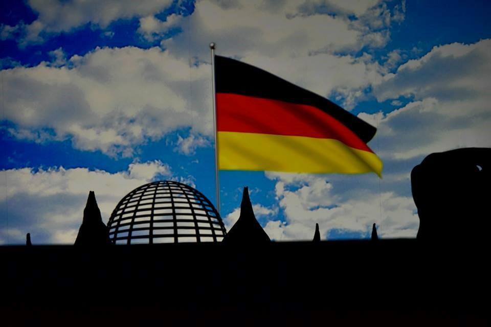Die Mobilés beim Festakt 25 Jahre Deutsche Einheit