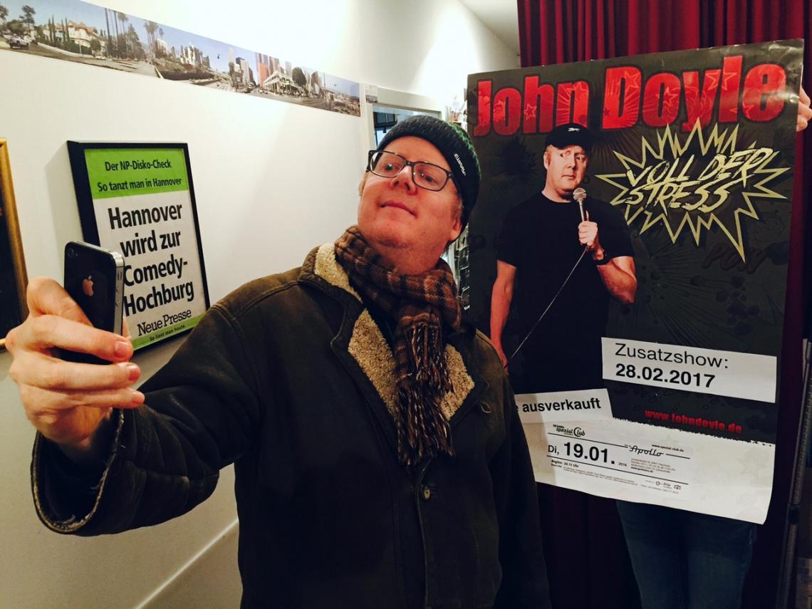 Comedian John Doyle - Zusatzshow ausverkauft im Apllokino, Hannover