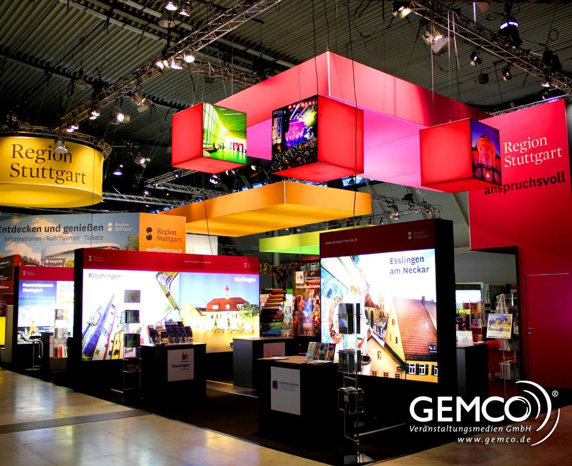 CMT 2016 - GEMCO beleuchtet Messestand auf der Urlaubsmesse