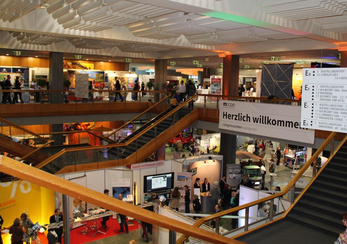 Messe LOCATIONS Rhein-Neckar lockt mit vielen neuen Möglichkeiten