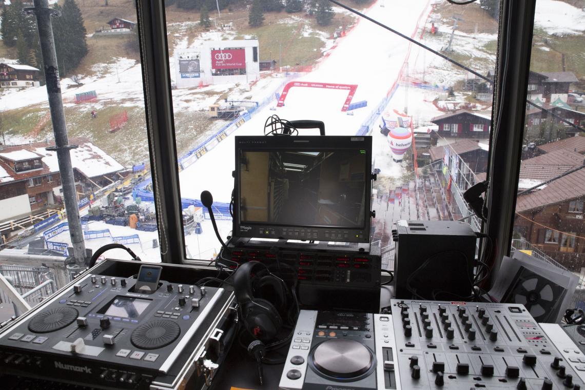 Der Hang zur perfekten Kommunikation – Riedel-Technologie beim Audi FIS World Cup in Adelboden
