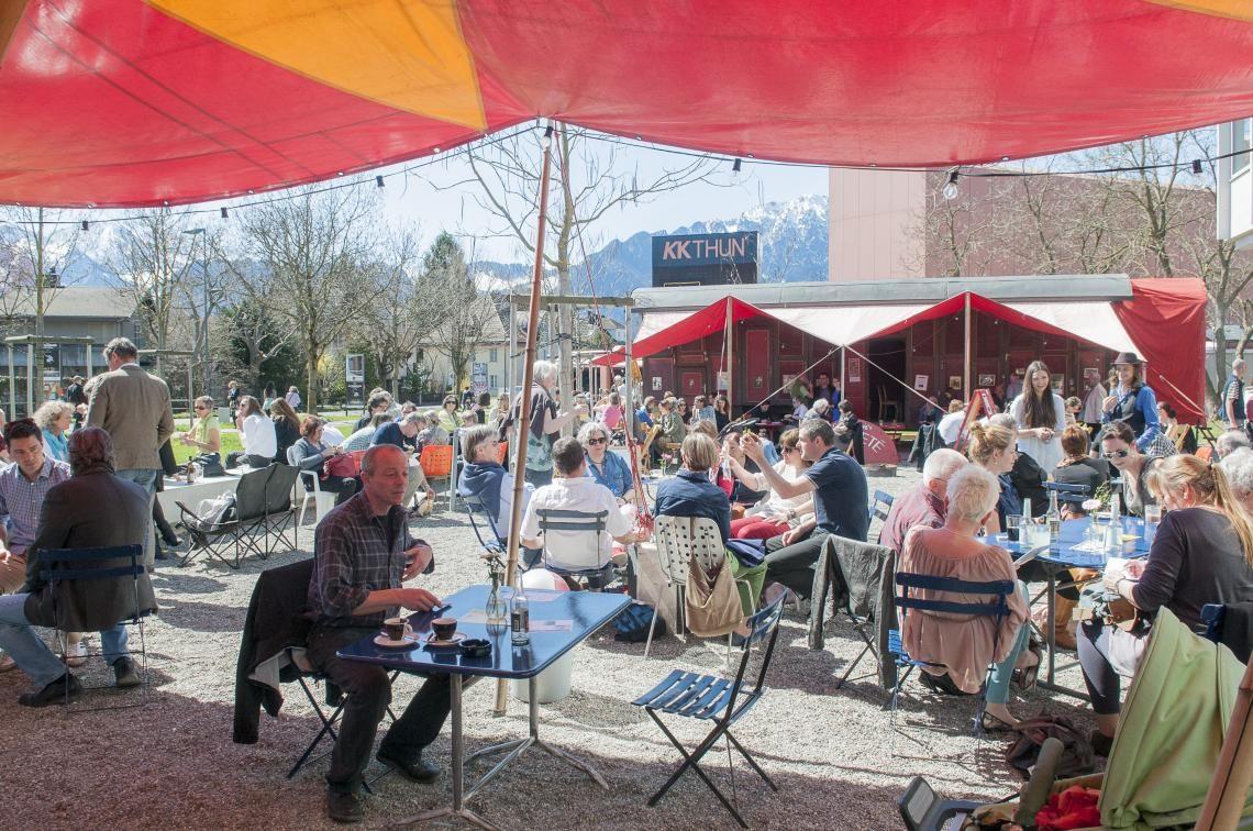 57. Schweizer Künstlerbörse in Thun vom 14. – 17. April 2016