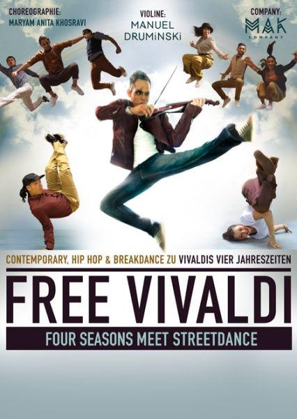 """Manuel Druminski – """"Free Vivaldi"""" 4 Seasons meet Streetdance"""