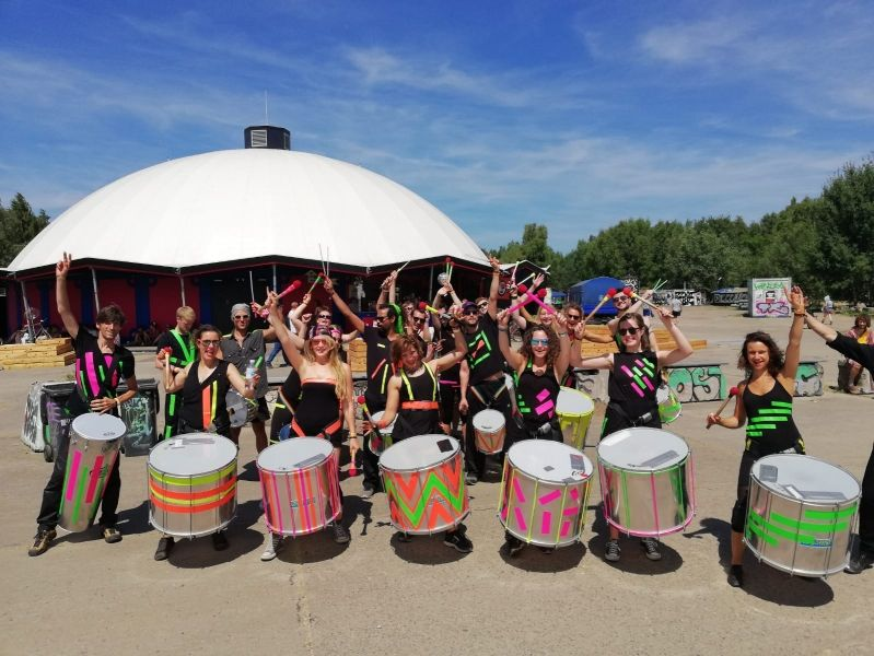 Lazaremusic – Percussion-Shows für Events und Festivals