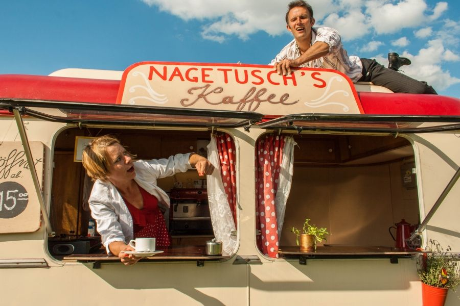 Café und Circus vereint