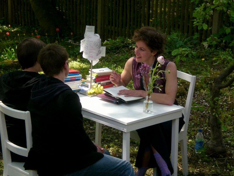 Claudia Schnürer / Schnurprojekte: Das Vorlesezimmer
