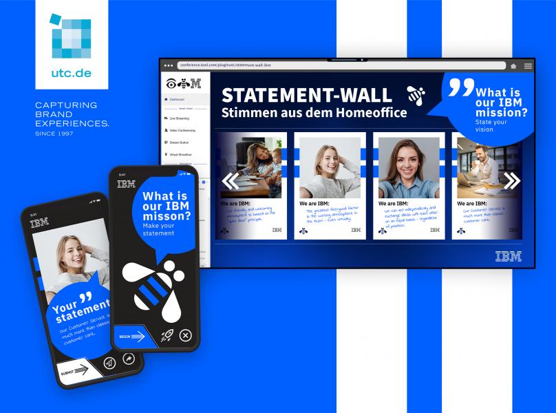 Digitale Events erweitert durch interaktive Teilnahme per Web-App