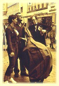 Das Deutsch-Schweizer Duo Basso doble