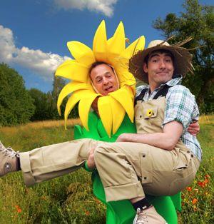 Der Gärtner und die Blume