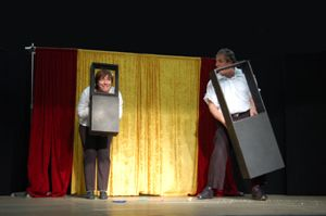 Visuelles Comedytheater