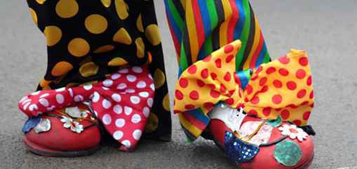 Clowns und Pantomimen