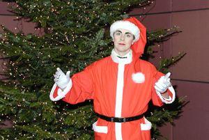 Weihnachtsshow mit Nikolaus Mister He