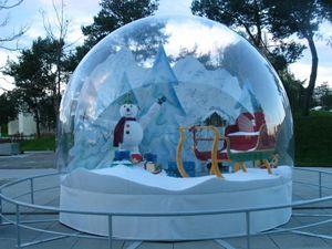 Schneekugel Magic Bubble