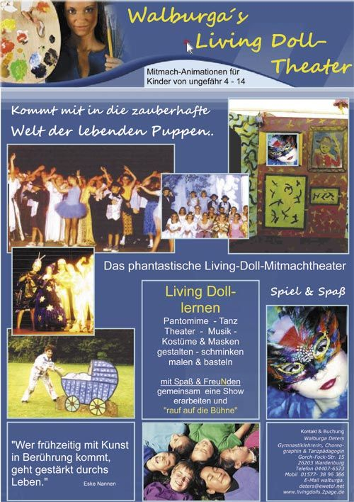 Walburga´s Living Doll-Theater