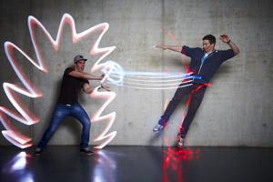 Rudi Renner - Lichtgraffiti