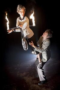 mosaique – Feuershow und Artistik