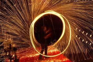 SARUMAN - Spektakuläre Magie des Feuers