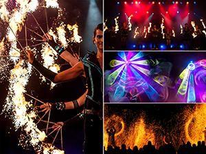 SPiCE Show Production - Feuer, Funken, Lichtgewitter
