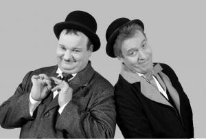 Comedy-Duo Zwei wie Dick & Doof