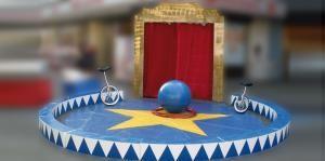 Originale Zirkusdekorationen von Circusevents