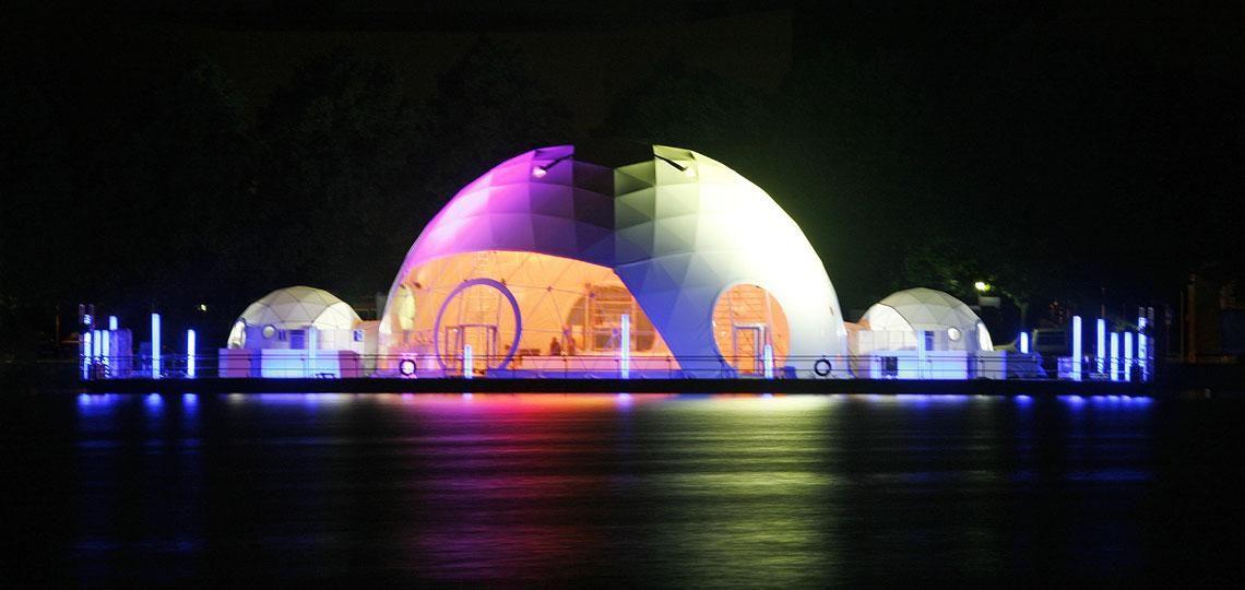 Exklusive Event-Locations und temporäre Architektur
