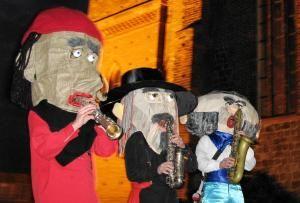Sax Puppets - Das professionelle, mobile Saxophon-Trio