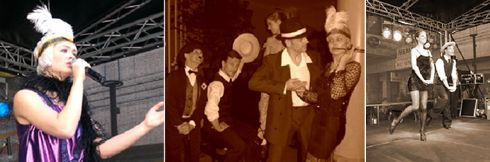 Die 20er Jahre-Bühnen-Show