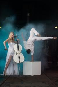 White Cello - musikalischer Höhenflug