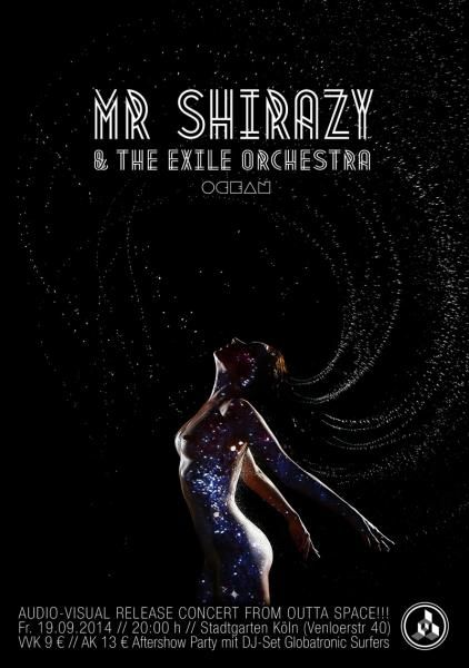 Mr. Shirazy & The Exile Orchestra – worldtronica from outerspace