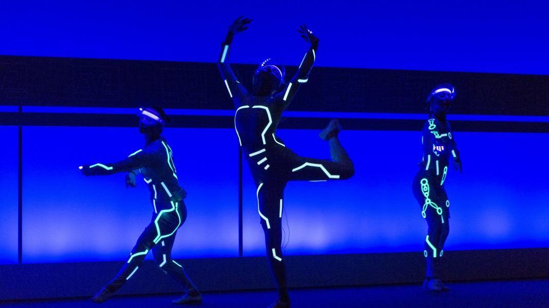 Futuristischer Tanz