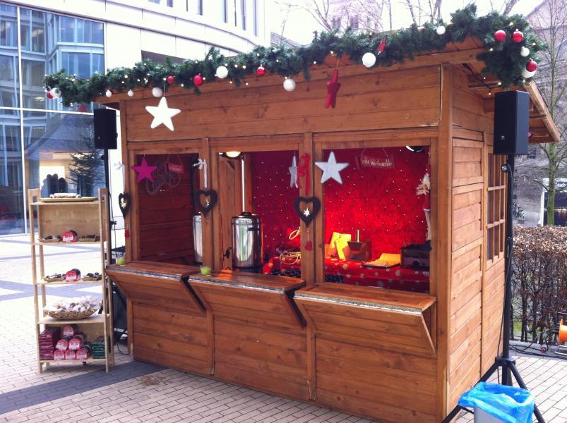 Weihnachtsmarktbuden für Ihre Weihnachtsfeier