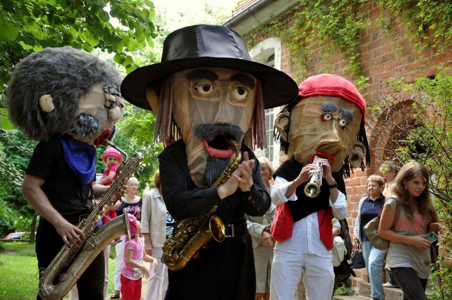 Musik Walk Act – The Sax Puppets