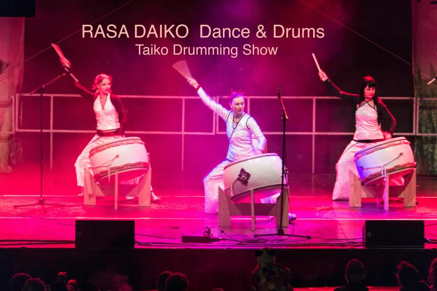 Rasa Daiko Ladies percussion - Taiko Drumming Show / Dance & Drums