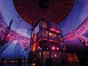 Weihnachten 2009 - Feiern im Asisi Panometer Dresden