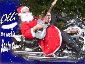 Das besondere Highlight zu Ihrem Weihnachtsevent: Olli - the rockin Santa Claus -