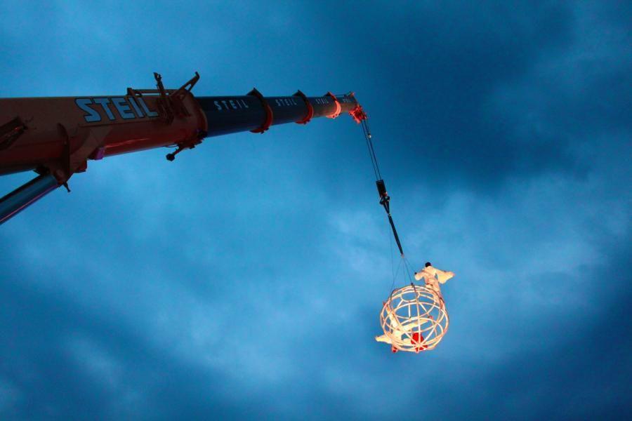 Auf geht's mit Moondance - eine akrobatische Attraktion