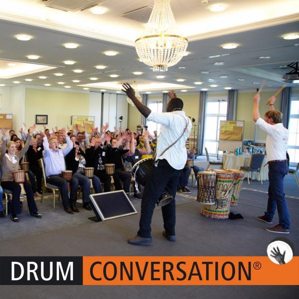 Interaktive Trommelevents mit DRUM CONVERSATION - das ist echtes Teambuilding