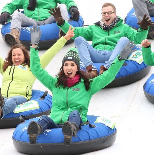 Winter-Action vom Event Profi