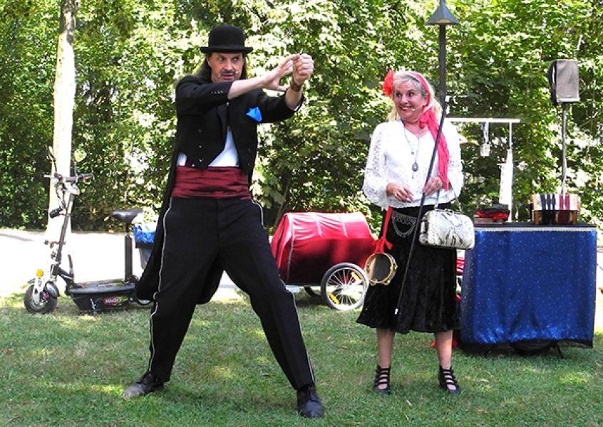 Dunja & Django  - Zaubern ist ihr Leben, Zaubern ihre Leidenschaft, die Leiden schafft