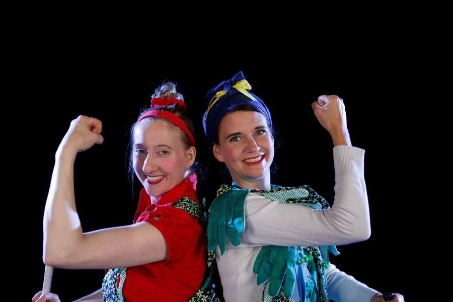 Clown-Duo Clowness