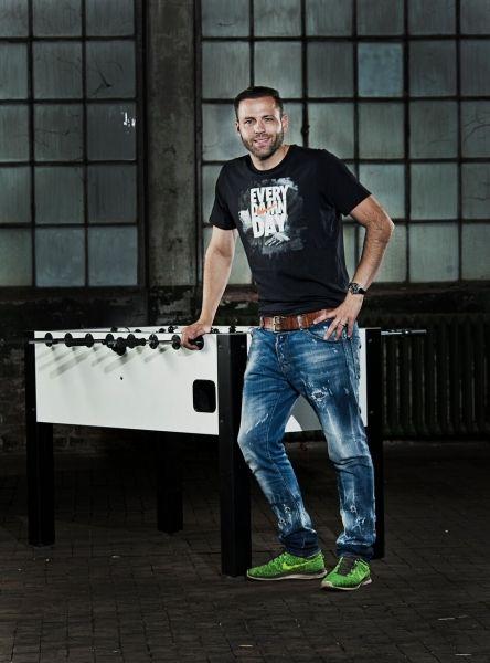 Tischfußball-Weltmeister Chris Marks