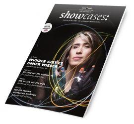 showcases Künstler und Technik