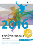 Eventbranchenbuch memo-media - E-Book Promotion