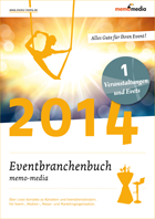 Eventbranchenbuch memo-media - E-Book Events