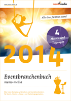 Eventbranchenbuch memo-media - E-Book Messen